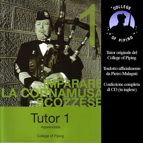 Manuale in italiano edito dal College of Piping
